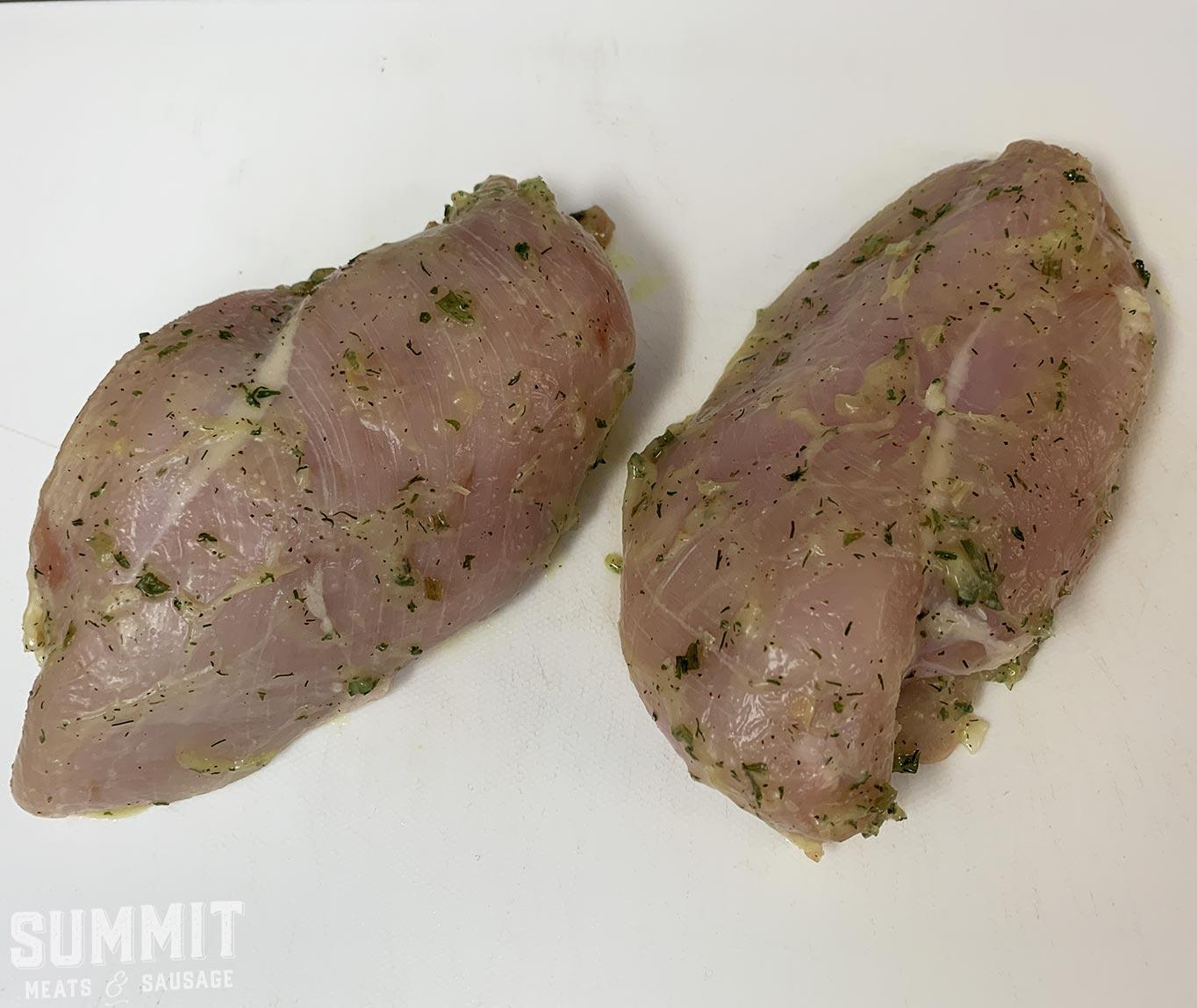 Butter Herb Chicken Breast - Summit Meats