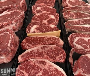Photo of a multitude of steaks from Saskatoon's premium butcher shop